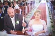 Andi és Gábor esküvői portré