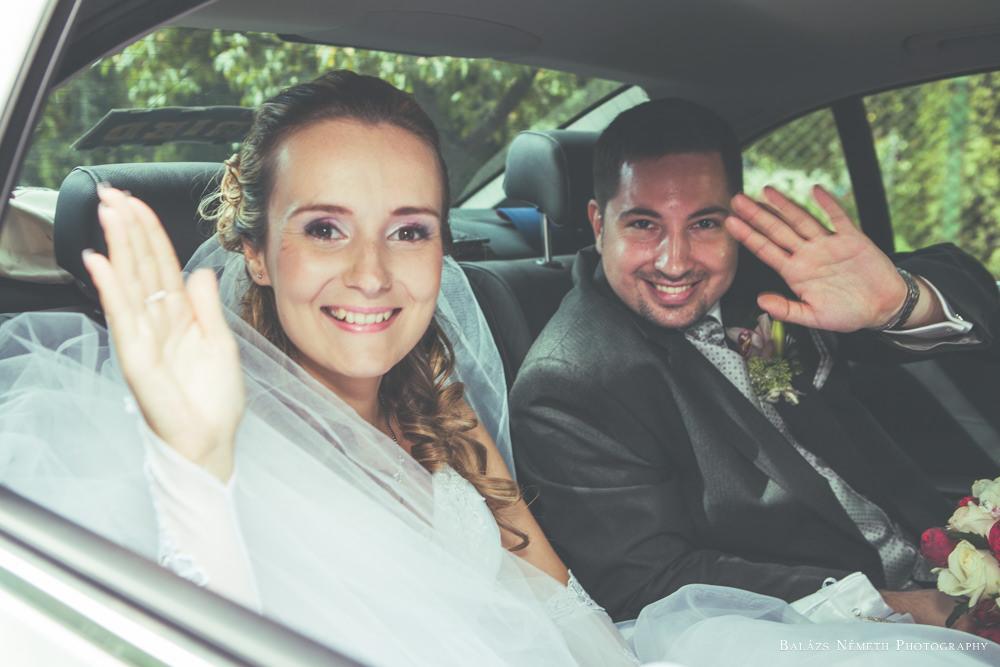 Laura és Zoli esküvői portré