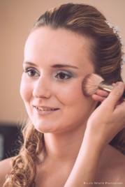 Laura esküvői portré - készülődés
