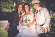 Dorina és Ádám esküvői csoportkép - Budapest