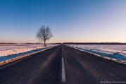 Naplemente a főúton (Vas Megye)