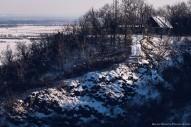 Téli havas Vas megyei táj