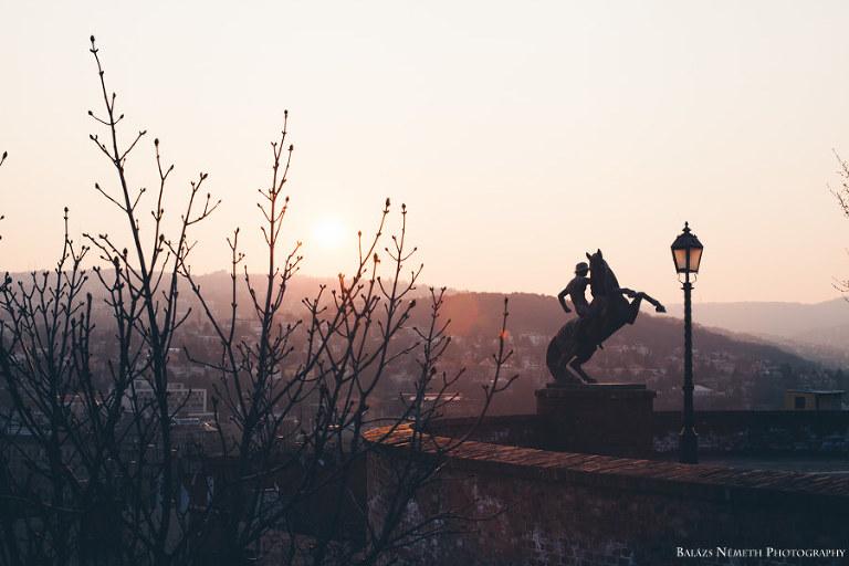 Budapest tavasszal Budai Vár